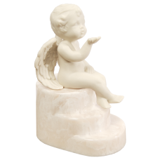 Cherub Urn for Infants Cultured Onyx