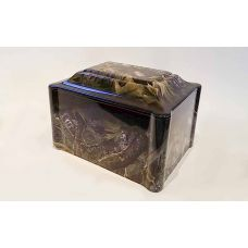 Cultured Marble Vinyl-Wrapped Urn/Vault - Hunters Dream - Camo