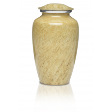 Alloy Cremation Urn in Beautiful Ivory - Adult