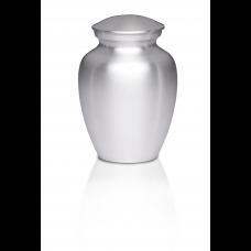 Alloy Cremation Urn Silver Color - Medium