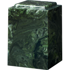 Cultured Marble Windsor Adult Urn Green Ascota