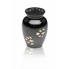 Golden Paws Brass Pet Urn - Small