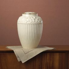Lenox - Fine Porcelain Urn w/ 24k Gold Trim - Adult