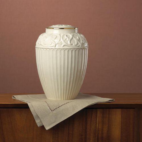Lenox - Fine Porcelain Urn w/ 24k Gold Trim - Adult -  - Lenox-01