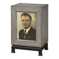 Metro Mantel Photo Urn