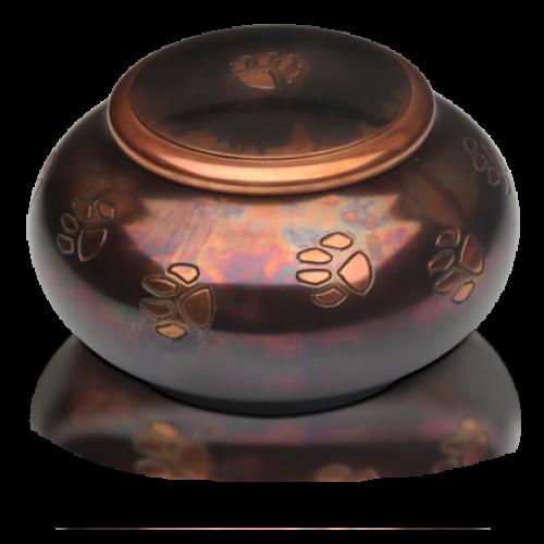 Milano Raku Paw Print Pet Cremation Urn - Large -  - B-1616-L