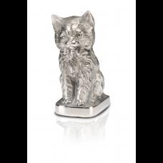 Precious Kitty Urn - Silver - Nickel - A-1465-S