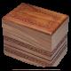 Rosewood Urn w/ Hand-Carved Border- Adult Size -  - RWBDRA
