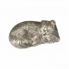 Sleeping Kitty Urn - Nickel - Exclusive Item - A-1468-S