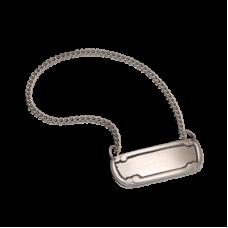 Urn Medallion - Brushed Pewter