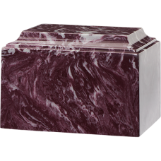 Tuscany Cultured Marble Adult Urn Merlot