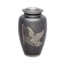 American Pride - Adult - Cremation Urn 210 Cu. In.