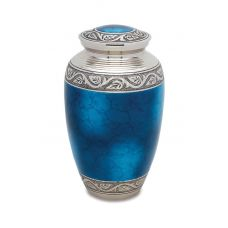 Grecian Blue - Adult - Cremation Urn 210 Cu. In.
