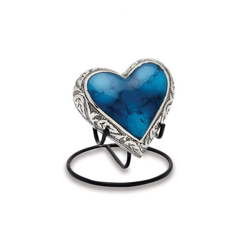 Grecian Blue - Keepsake Heart -  - 9987-H