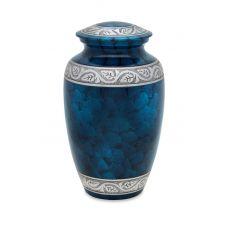 Middleton Blue - Adult - Cremation Urn 210 Cu. In.