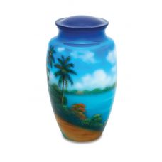 Paradise - Adult - Cremation Urn 210 Cu. In.
