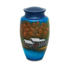 The Homestead - Adult - Cremation Urn 210 Cu. In.
