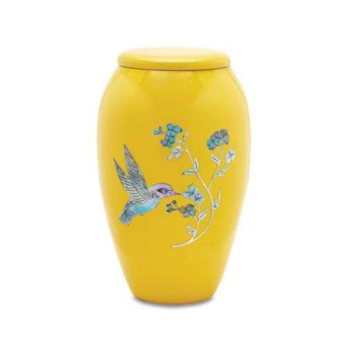 Yellow Hummingbird - Adult - Cremation Urn 210 Cu. In. -  - 7710-10