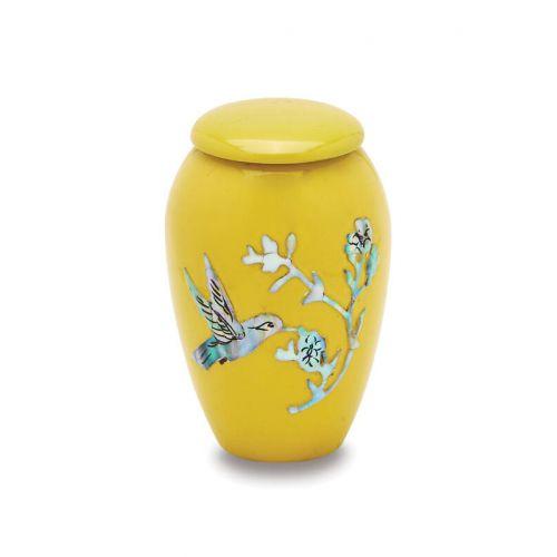 Yellow Hummingbird - Tokens - 3 Cu. in. -  - 7710-3