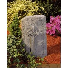 Celtic Cross Obelisk All Weatherproof Garden Cast Stone