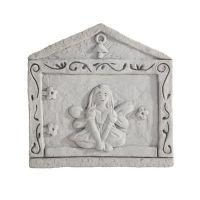 House  w/Fairy...Fairy Door All Weatherproof Cast Stone