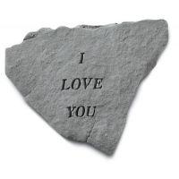 I Love You Cast Stone All Weatherproof Cast Stone