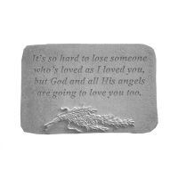It's So Hard To Lose... w/Rosemary All Weatherproof Cast Stone