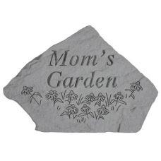 Mom's Garden ( w/Flowers) All Weatherproof Cast Stone