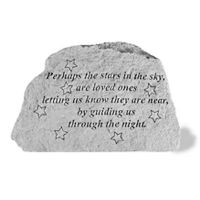 Perhaps The Stars In The Sky Cast Stone All Cast Stone Memorial