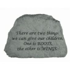 There Are Two Things... All Weatherproof Cast Stone