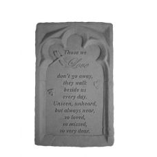 Those We Love... All Weatherproof Cast Stone Memorial