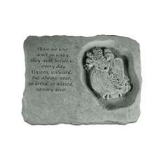 Those We Love Don't Go Away w/ Angel... All Weatherproof Cast Stone