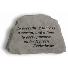 To Everything There Is A Season... All Weatherproof Cast Stone