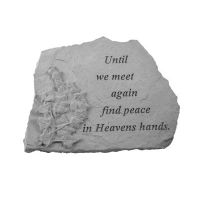 When Someone You Love...(Ground Level Fountain) Weatherproof Stone