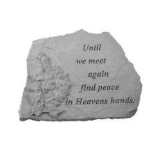 Until We Meet Again... w/Ivy All Weatherproof Cast Stone