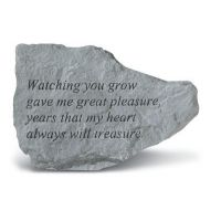 Watching You Grow Gave Me All Weatherproof Garden Cast Stone