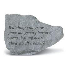 Watching You Grow Gave Me All Weatherproof Garden Cast Stone
