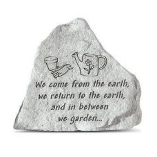 We Come From The Earth... Decorative Weatherproof Cast Stone