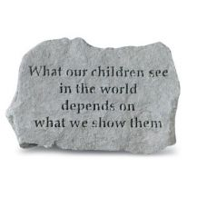 What Our Children See In... All Weatherproof Cast Stone
