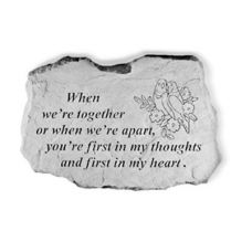 When We're Together... All Weatherproof Cast Stone