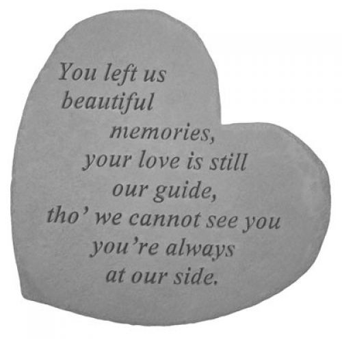 You Left Us... All Weatherproof Cast Stone - 707509086107 - 08610
