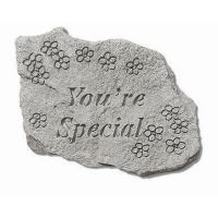 You're Special All Weatherproof Cast Stone Appreciation Garden Rock