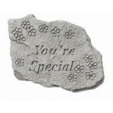 You're Special All Weatherproof Cast Stone Appreciation Garden Rock