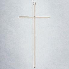 "10"" Cross Nickel plated brass"