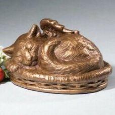 Angel Cat Cremation Urn