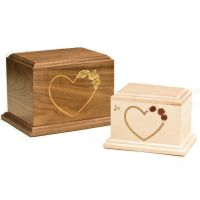 At Home in our Hearts Cremation Urn