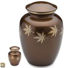 Autumn Leaves Cremation Urn