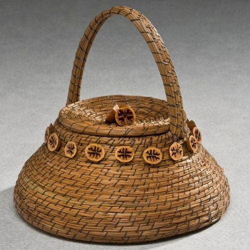 Back to Earth Pine Needle Basket Cremation Urn -  - 585239