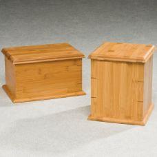 Bamboo Simplicity Cremation Urn Box