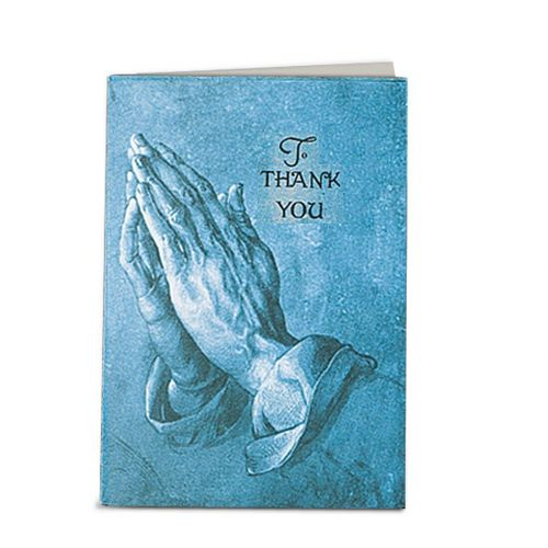 Blue Praying Hands Micro-Perforated Service Record -  - 198633